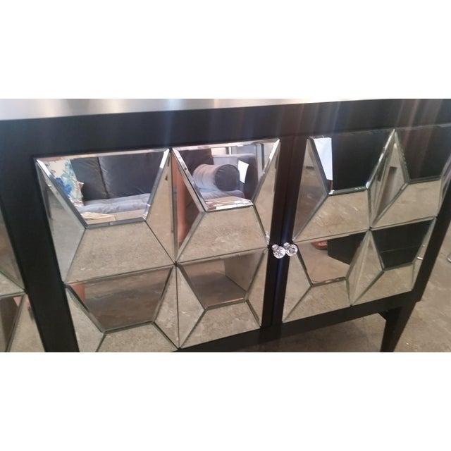 Mirrored Spike Door Sideboard For Sale In Los Angeles - Image 6 of 9