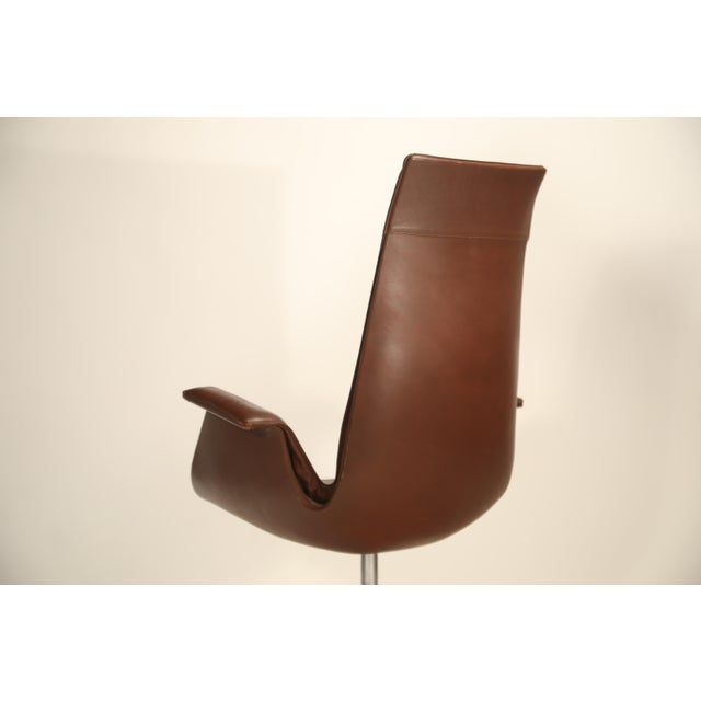 Fk 6725 'Bird' Chair by Preben Fabricius and Jorgen Kastholm for Alfred Kill For Sale In Los Angeles - Image 6 of 13