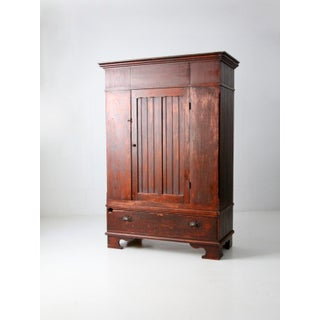 Antique Beadboard Armoire Preview