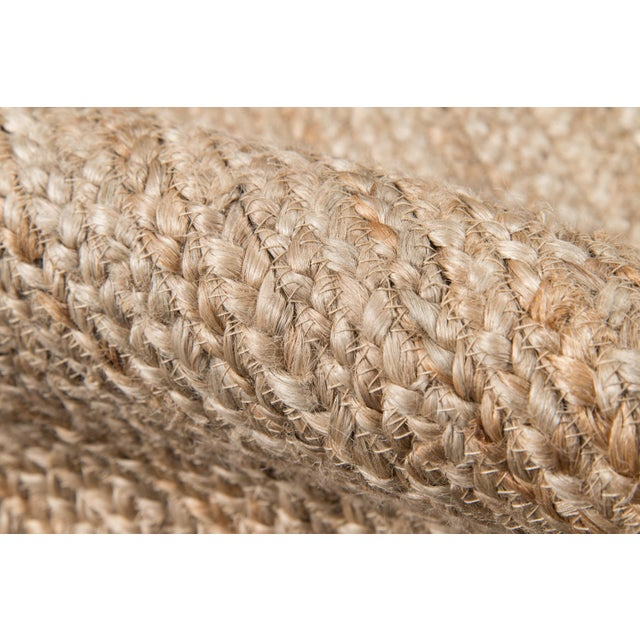 """Erin Gates by Momeni Westshore Waltham Brown Natural Jute Area Rug - 3'6"""" X 5'6"""" For Sale - Image 4 of 7"""