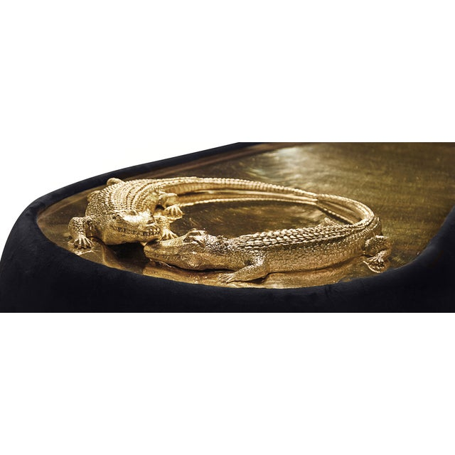 Mid-Century Modern Reptilia Sofa From Covet Paris For Sale - Image 3 of 10