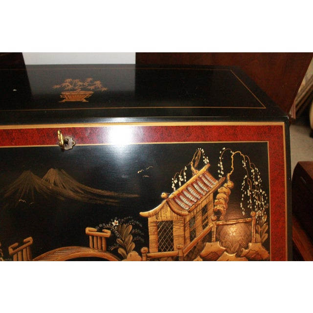 Asian 20th Century Asian Secretary Desk For Sale - Image 3 of 7