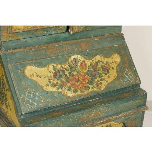 Italian Early 20th Century Louis XVI Oak Venetian Secretary For Sale - Image 3 of 5
