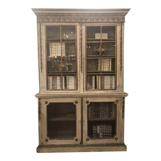 19th Century Italian Bookcase For Sale