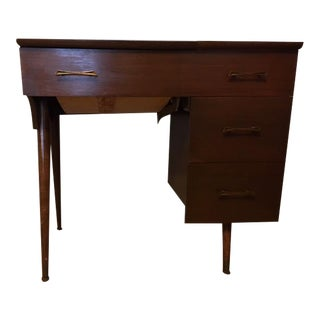 Mid-Century Sewing Cabinet