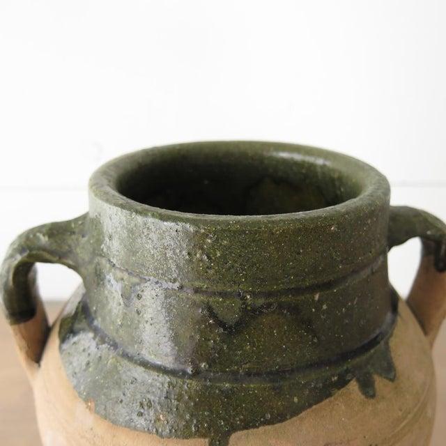 Green Glazed Teracotta Urn - Image 6 of 8