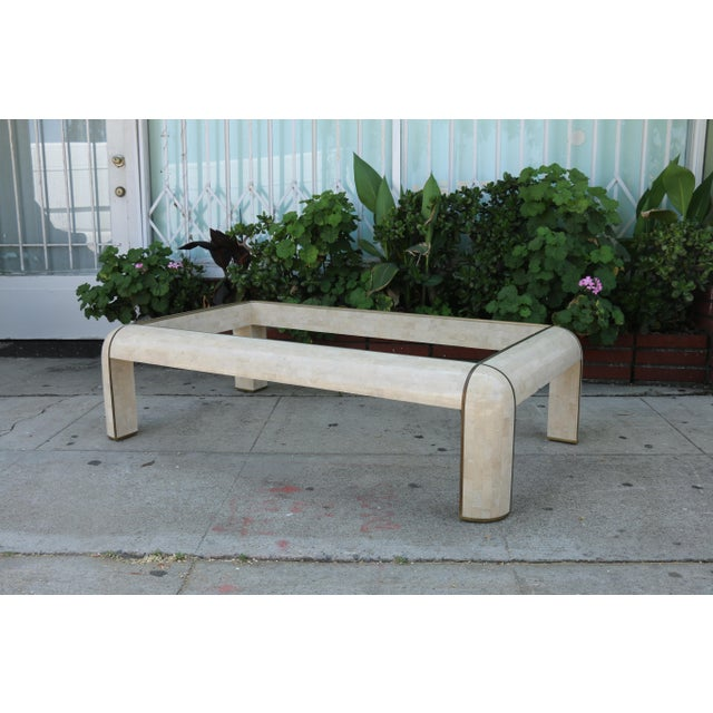 1980s Hollywood Regency Maitland Smith Coffee Table For Sale - Image 9 of 9