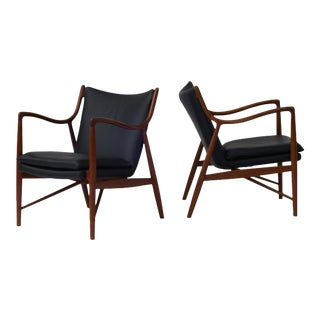 Finn Juhl Lounge Chairs Model NV45