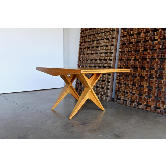 1940s Dan Johnson Dining Table For Sale - Image 10 of 10