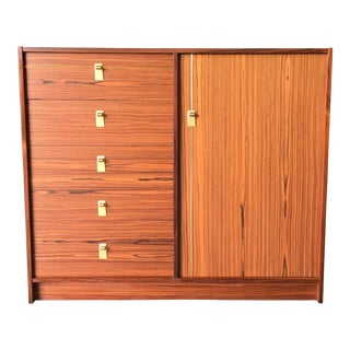 1960s Danish Modern Maurice Villency Rosewood Dresser For Sale