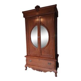 Lexington Victorian Sampler Armoire For Sale