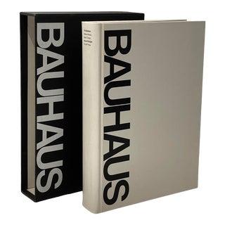 Vintage Book Bauhaus in Slipcase 1979 Hans M. Wingler Mit Press For Sale