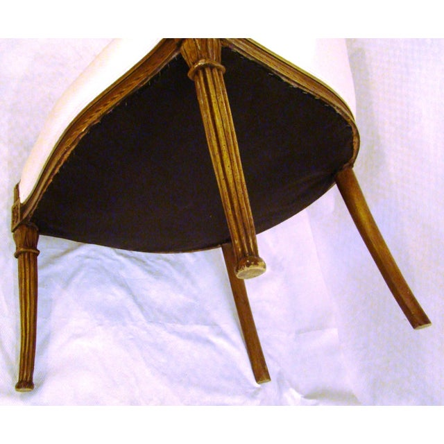 Vintage French-Style Club Chairs - A Pair - Image 9 of 9