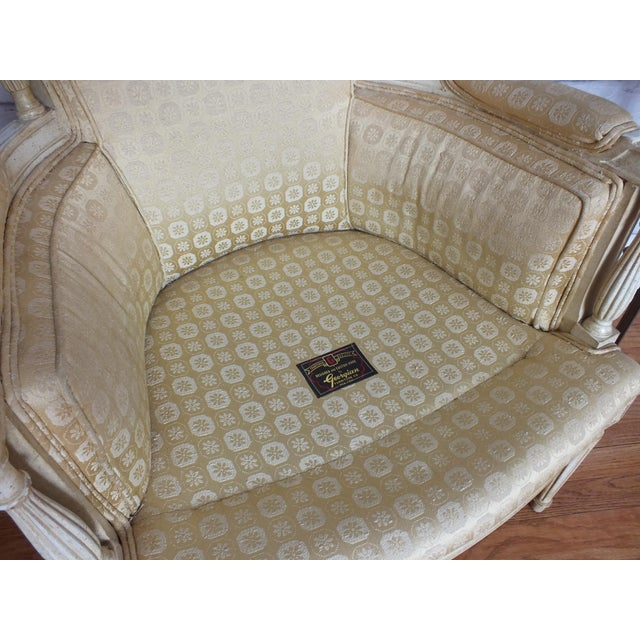 French Directoire Louis XVI Fauteuil - Image 11 of 11