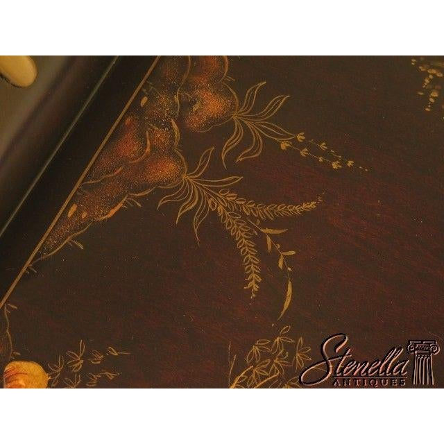 2010s Theodore Alexander #1102-189 Chinoiserie Tray Top Coffee Table For Sale - Image 5 of 11