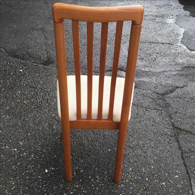 Teak Chairs by Benny Linden - Set of 6 - Image 6 of 11