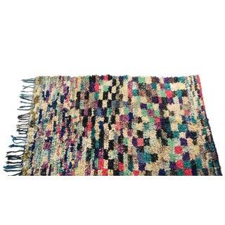 """Vintage Boucherouite Carpet - 7'6"""" X 4'7"""""""
