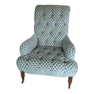 Kravet Traditional Velvet Upholstered Chair