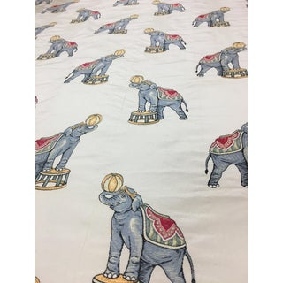 Kravet Circus Elephants Fabric - 8 Yds For Sale