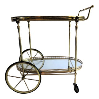 Maison Jansen Bar Cart For Sale