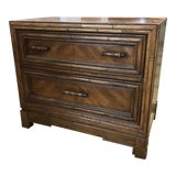 Image of Faux Bamboo Nightstand For Sale
