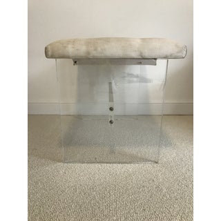 1970s Vintage Lucite Bench Preview