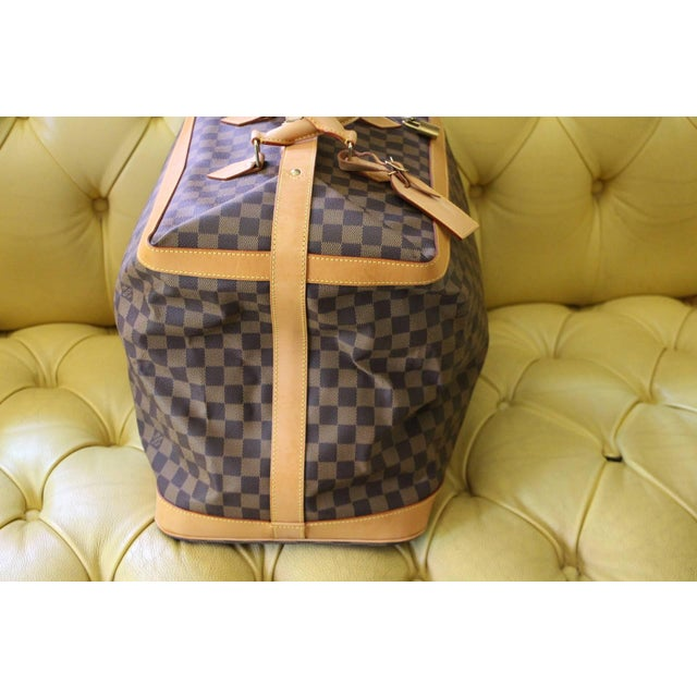 Special Edition Louis Vuitton Travel Bag, Damier Canvas For Sale - Image 6 of 12