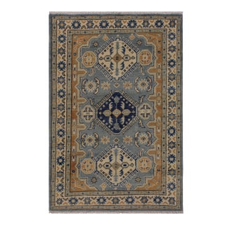 Stacey Grey Wool Rug- 2′8″ × 4′ For Sale