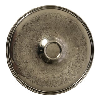 """Vintage Rogers H'dourves Tray Silverplate 12"""" For Sale"""