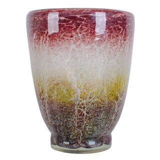 Karl Wiedmann Wmf German Art Glass Vase For Sale