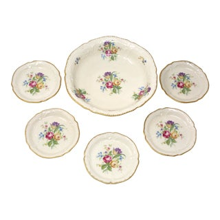 Vintage Rosenthal Sanssouci Candy and Butter Dishes - Set of 6 For Sale