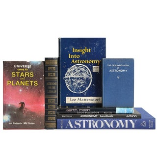 Mini Astronomy Library - Set of 7 For Sale