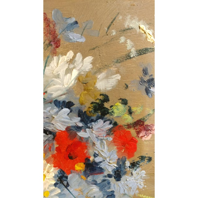 Exquisite Beautiful Flower Bouquet -19th century Still life oil ...