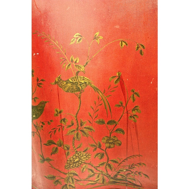 1980s 1980s Chinoiserie Painted Chest For Sale - Image 5 of 7
