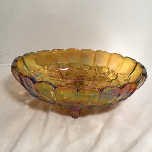 Carnival Glass Serving Bowl - Image 2 of 11