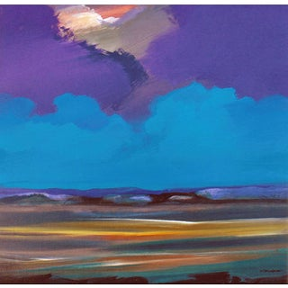 Jerome Gastaldi Painting - Violet Sky
