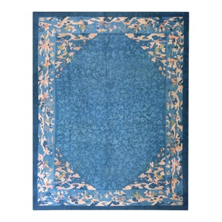 """Antique Chinese, Peking Rug 9'2"""" X 11'6"""" For Sale"""