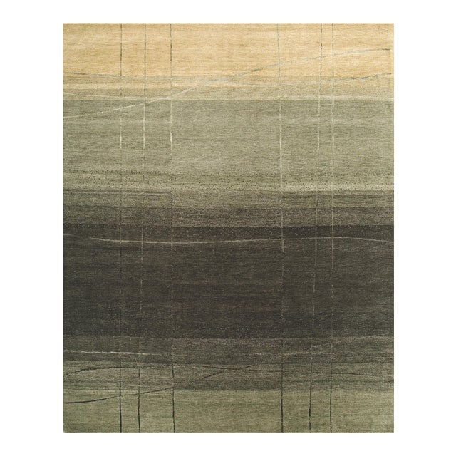 ModernArt - Customizable Forest Night Rug (8x10) For Sale