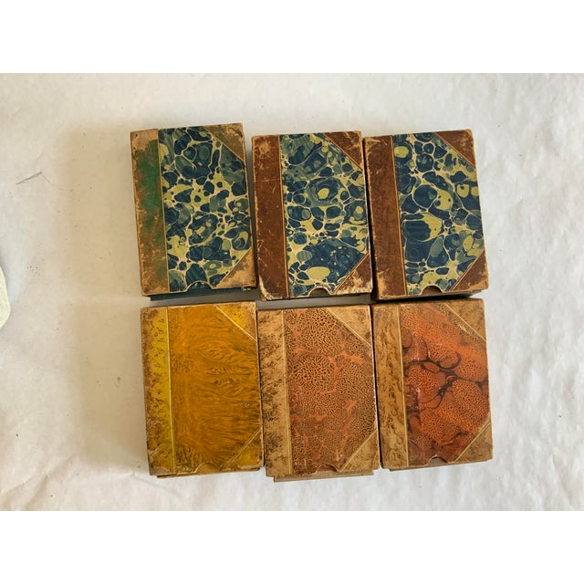 Antique Italian Faux Book Boxes For Sale In Washington DC - Image 6 of 8