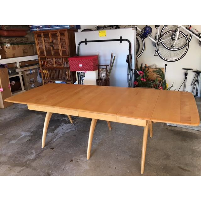 Heywood-Wakefield Drop Leaf Dining Table - Image 2 of 11