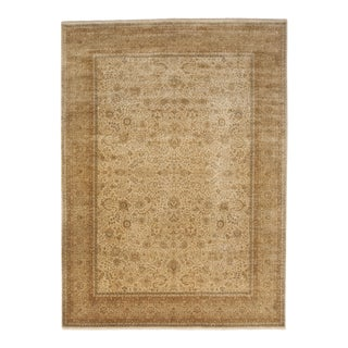 """Nasser Hand Knotted Wool Rug - 8'8""""x 11'10"""" For Sale"""