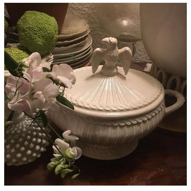 Italian Neoclassical Creamware Soup Tureen For Sale - Image 10 of 10