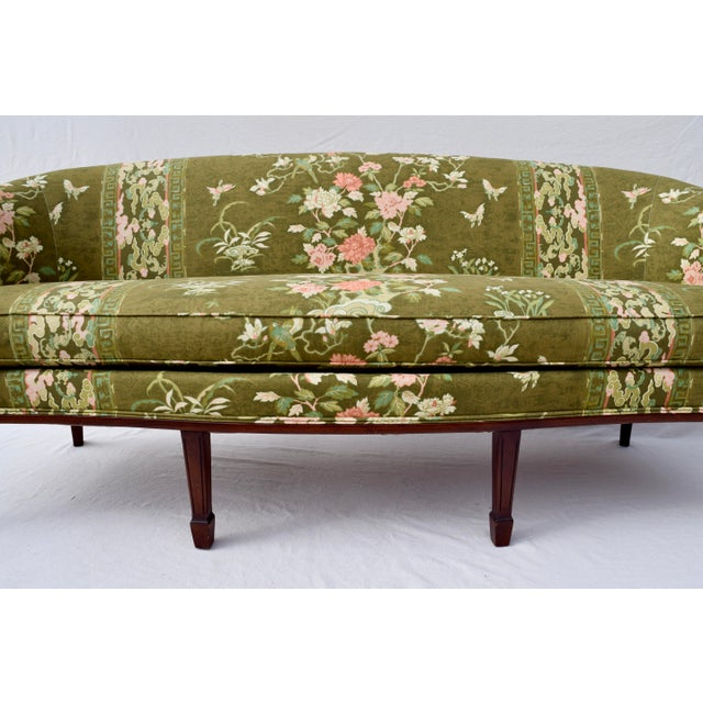 Hickory Chair Federal Hepplewhite Style Sofa For Sale - Image 12 of 13