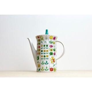 Vintage Floral Rosenthal Baumann Teapot, Studio Line Germany Preview