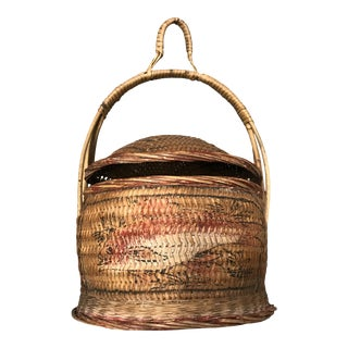 Antique Wedding/ Rice Basket For Sale