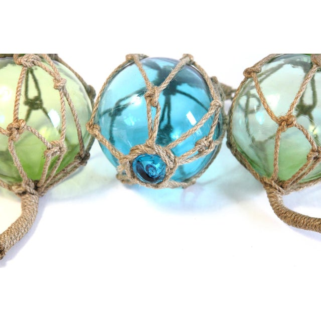 Glass Fishing Floats - Set of 4 - Image 4 of 5
