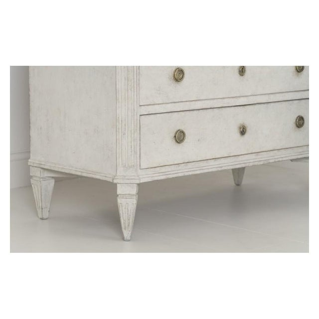 Brass 19th Century Swedish Gustavian Bedside Commodes - a Pair For Sale - Image 7 of 11