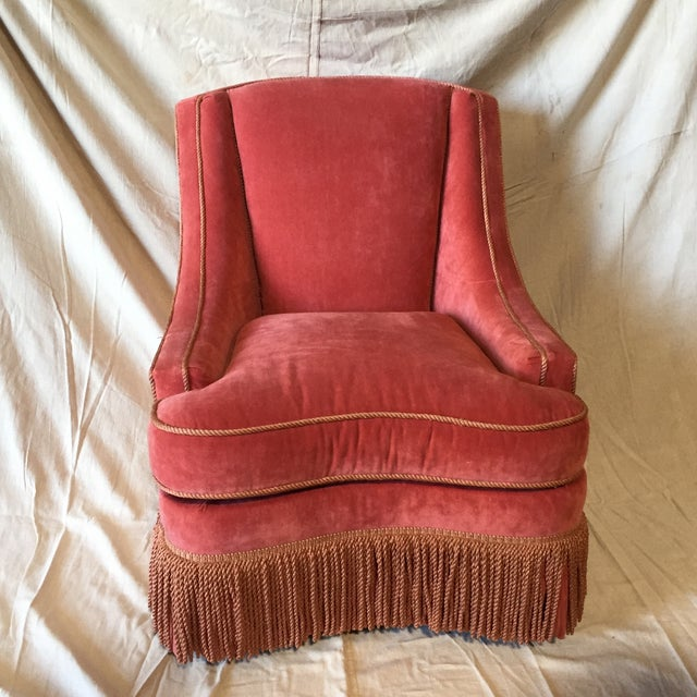 Vintage Council Furniture Down Wrap Chair For Sale - Image 9 of 9