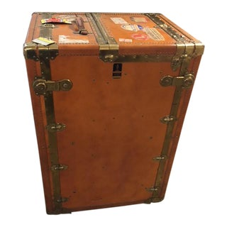 Oshkosh Trunk & Luggage Company Antique Steamer Trunk