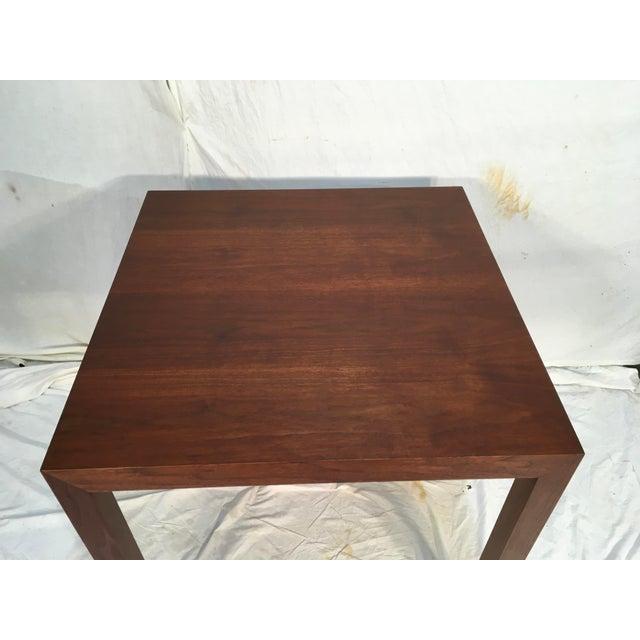 Edward Wormley Walnut Side Table - Image 4 of 11